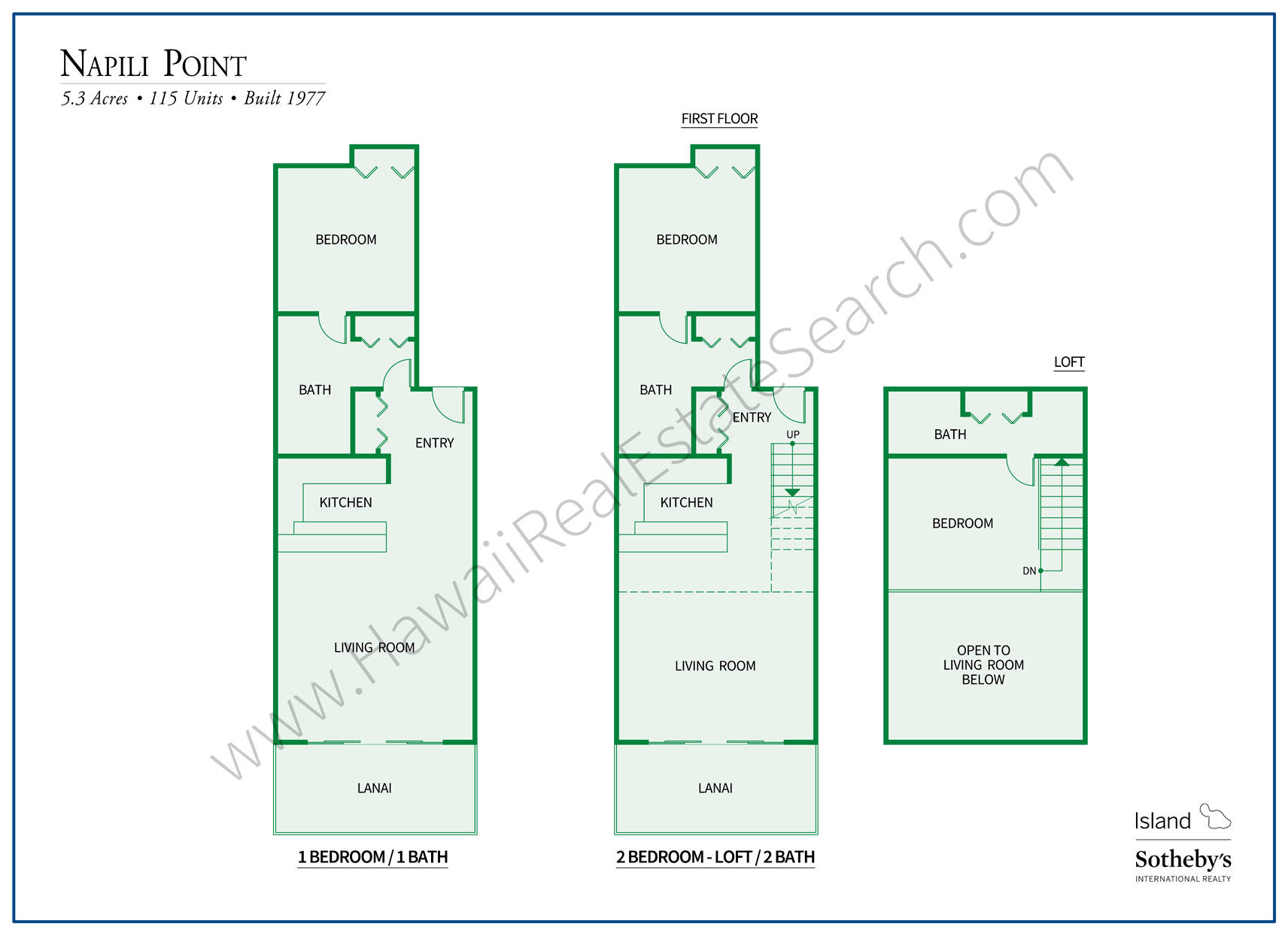 Napili Point Floor Plans Updated 2018