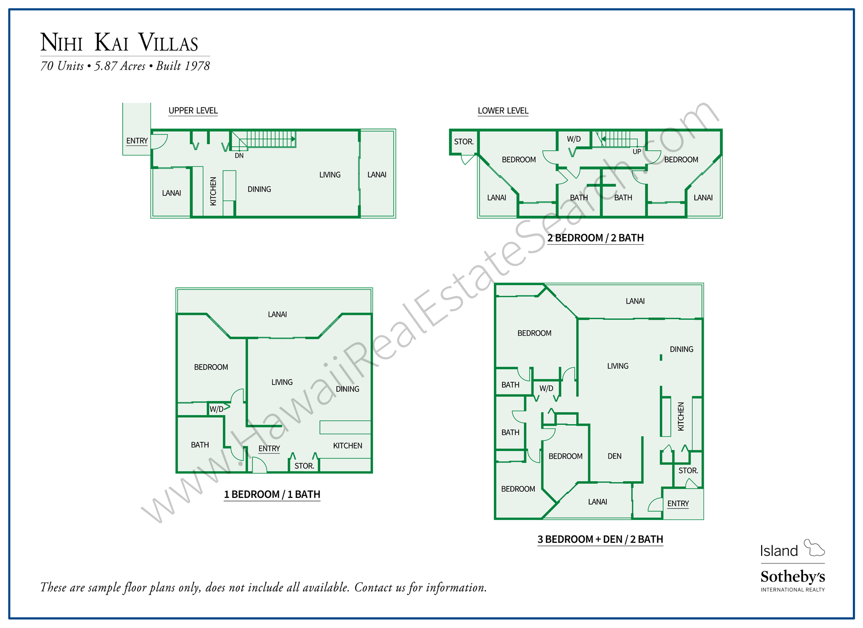 Nihi Kai Villas Floor Plans Updated