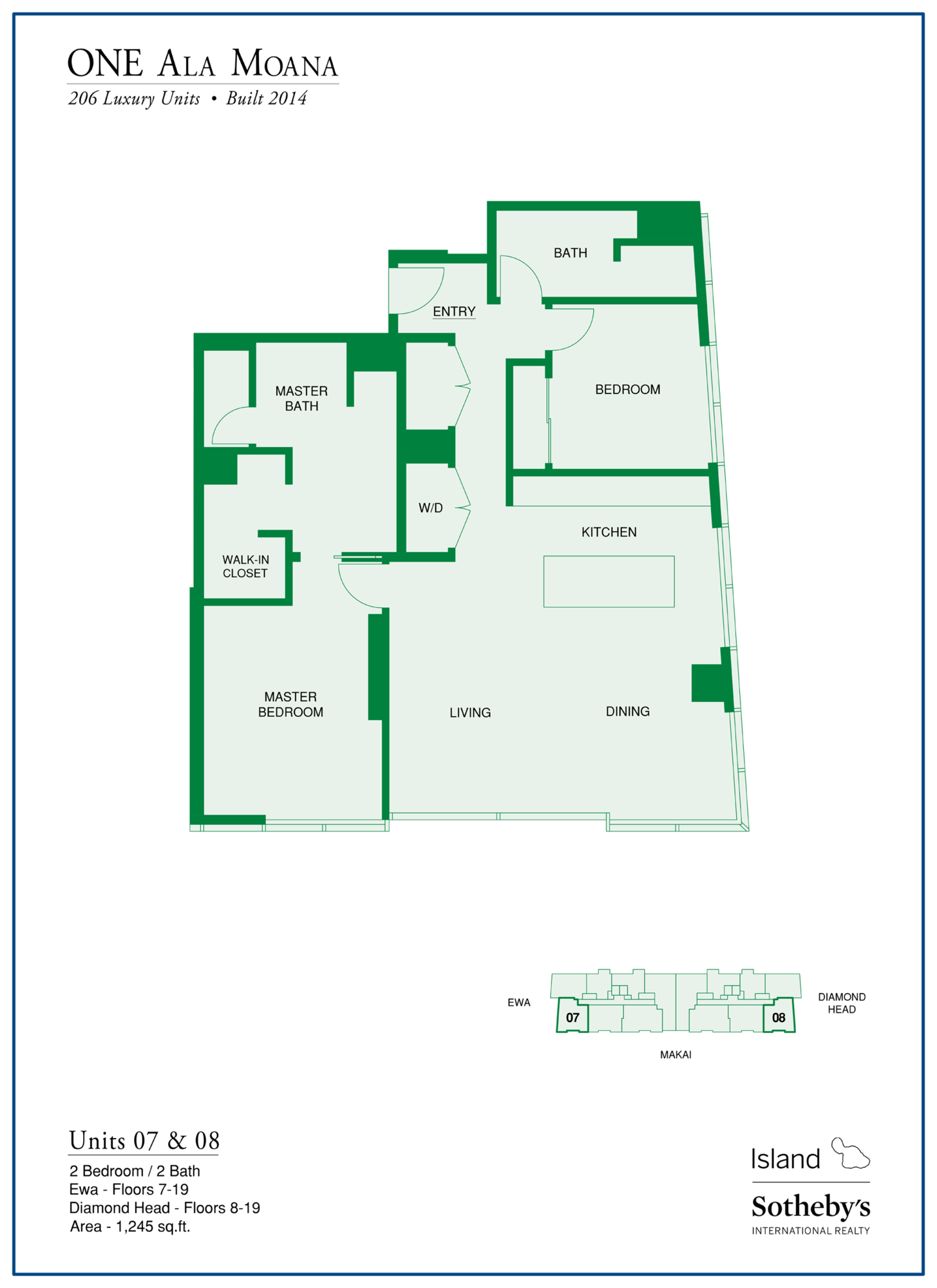 one ala moana floor plan in ala moana