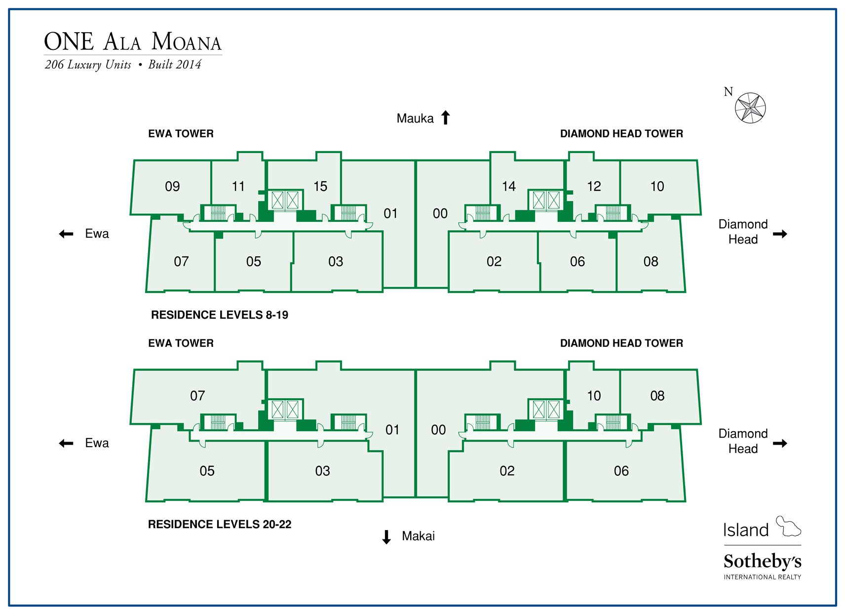 one ala moana map property