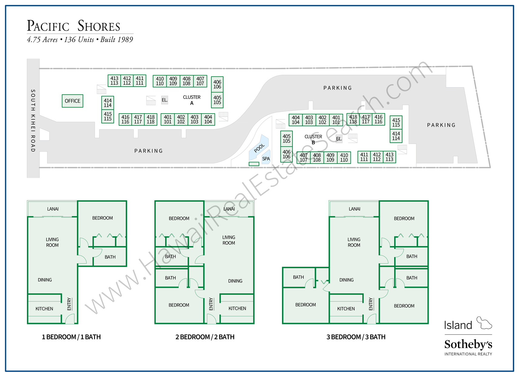pacific shores map and floor plans