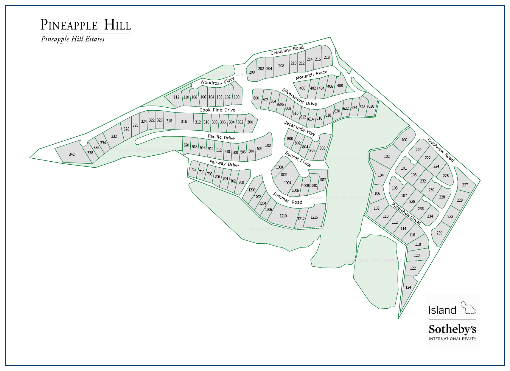 pineapple hill map kapalua
