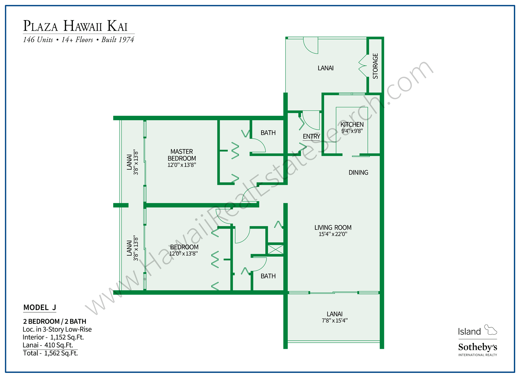 Plaza Hawaii Kai Floor Plan J