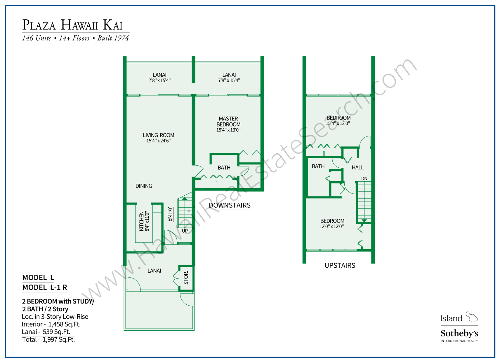 Plaza Hawaii Kai Floor Plan LL