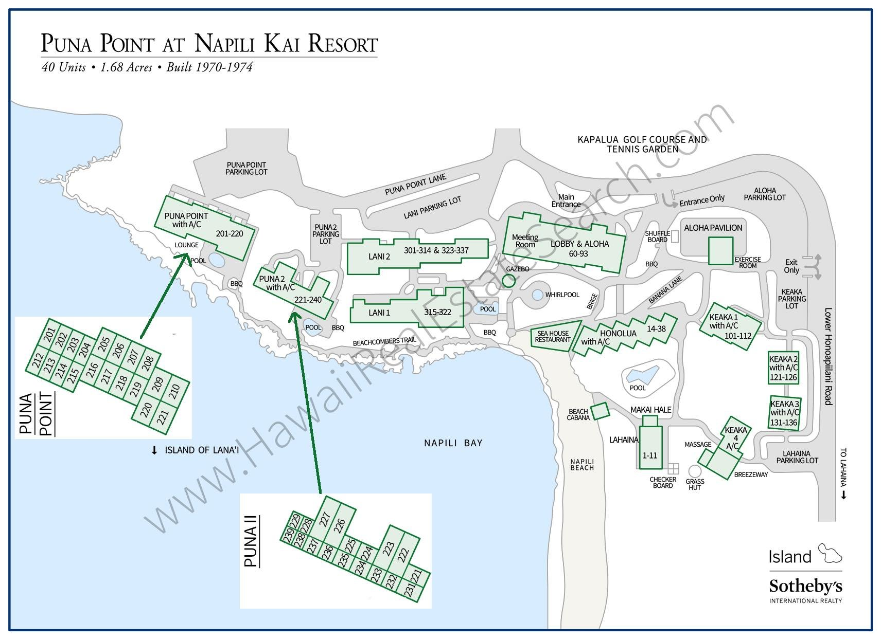 Puna Point Property Map Updated