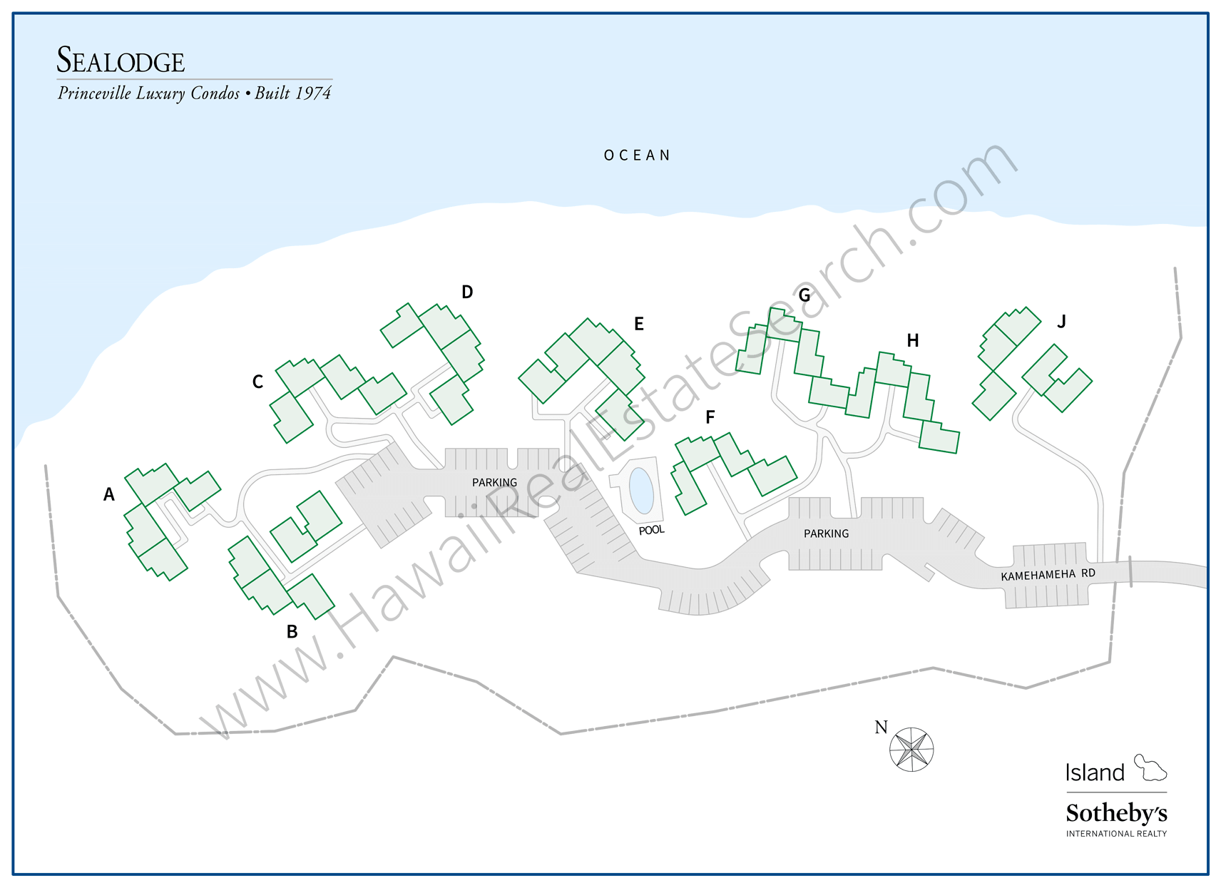 Sealodge Property Map
