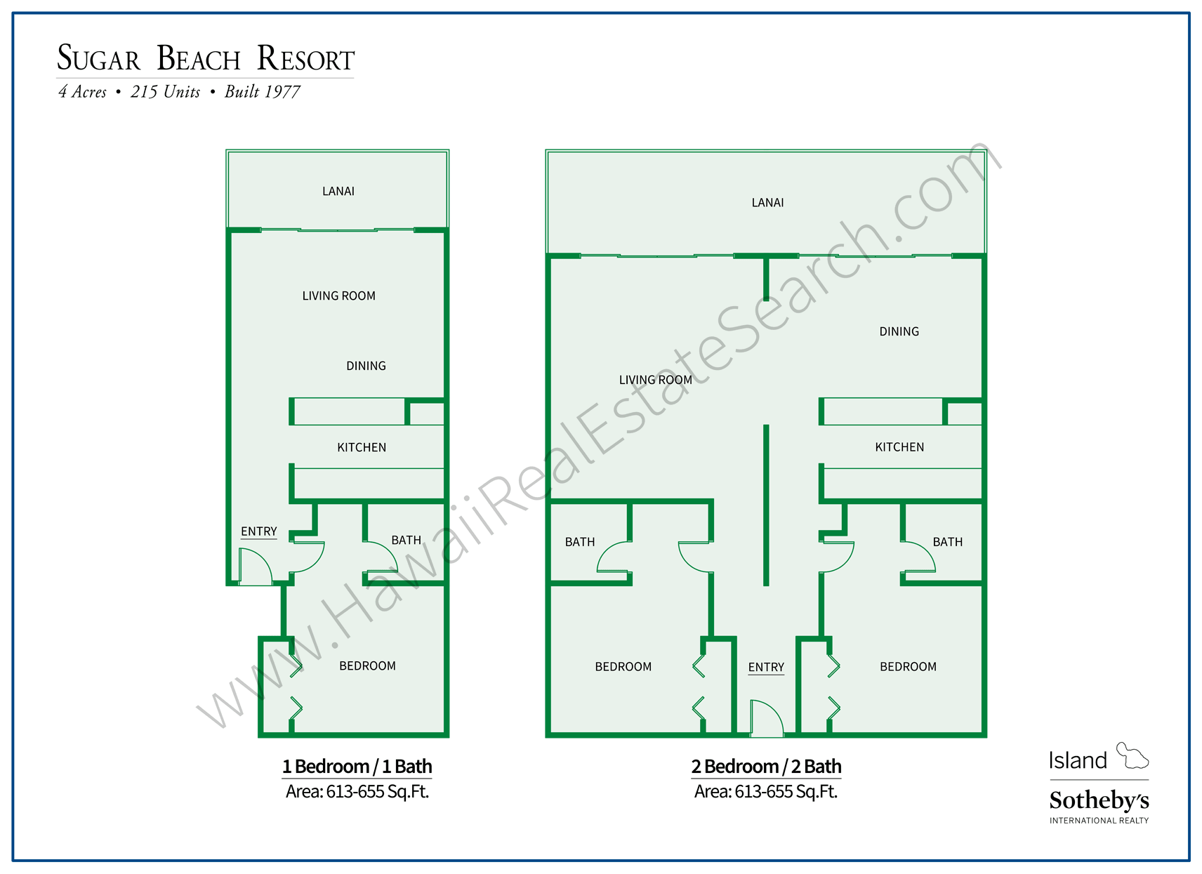 Sugar Beach Resort Floor Plans Kihei Updated