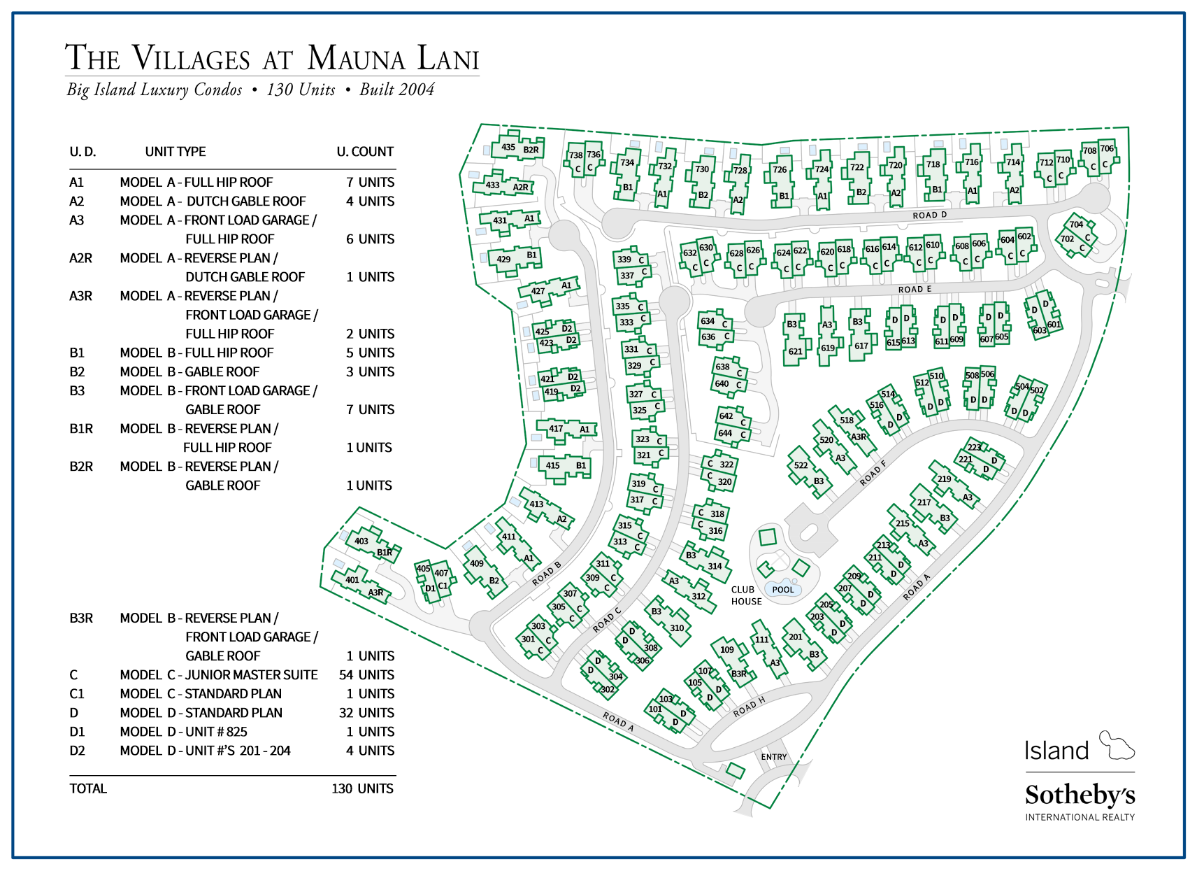 Villages at Mauna Lani Map