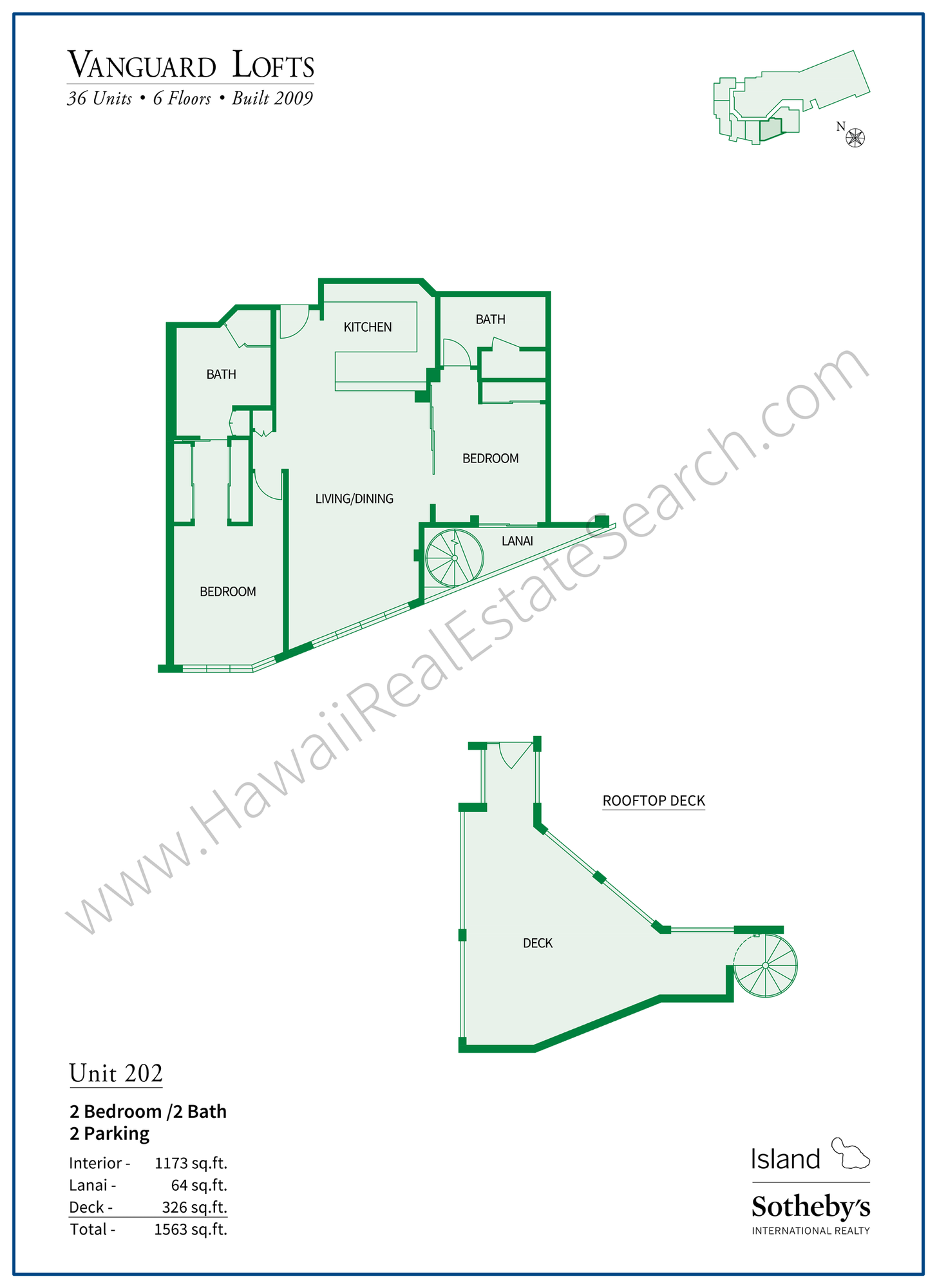 vanguard lofts floor plan 202