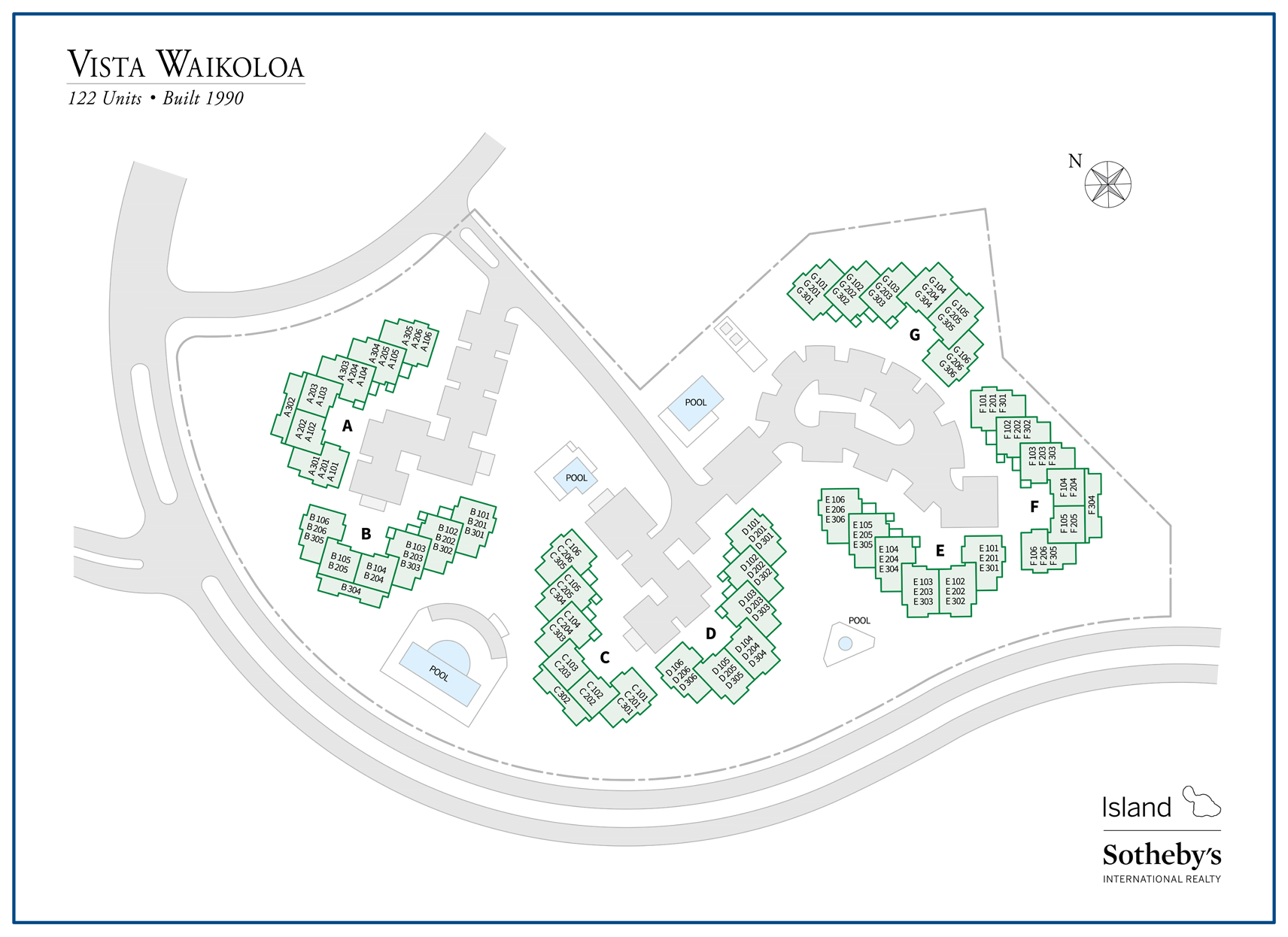 vista waikoloa map