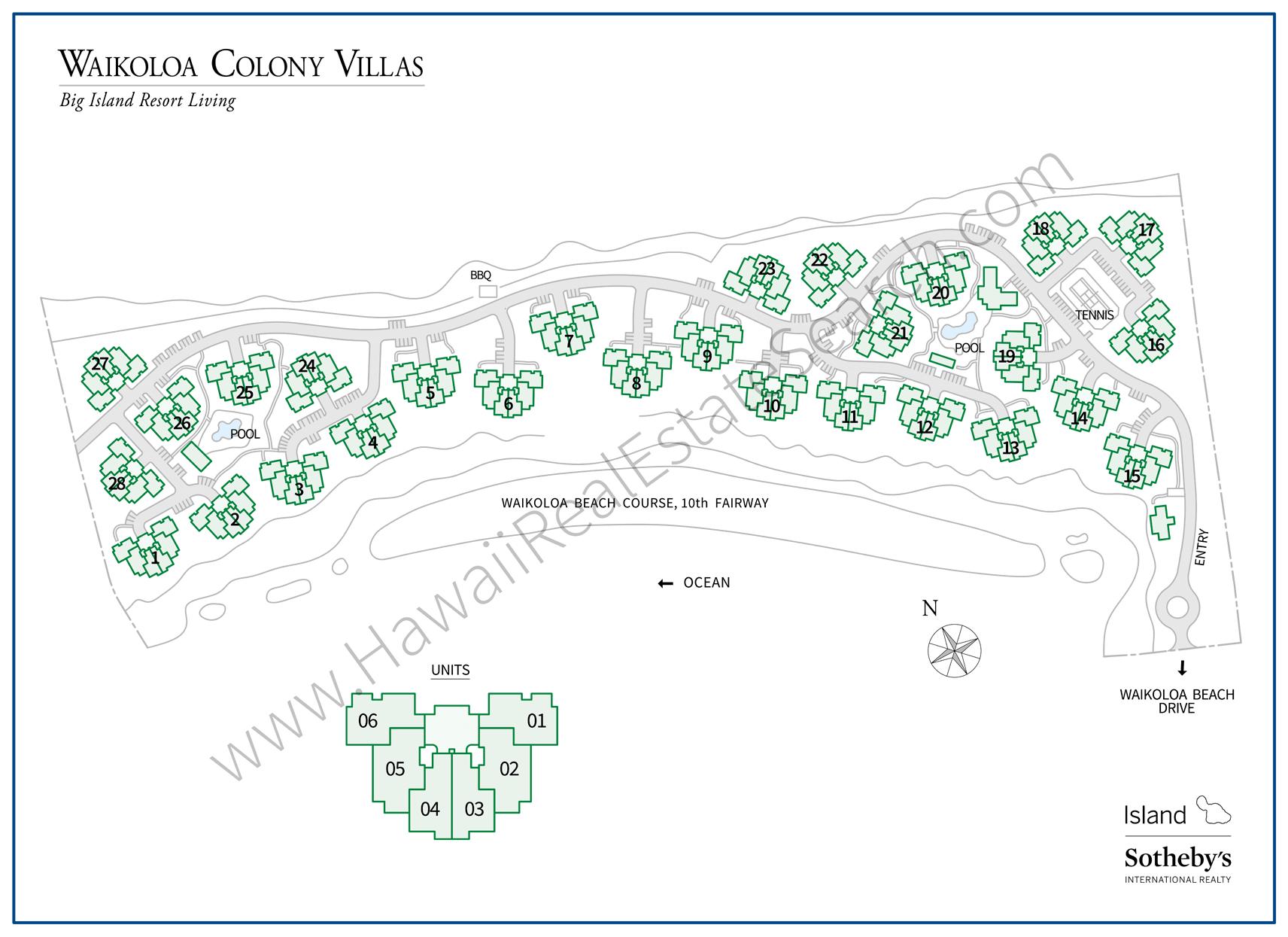 Waikoloa Colony Villas For Sale South Kohala Big Island