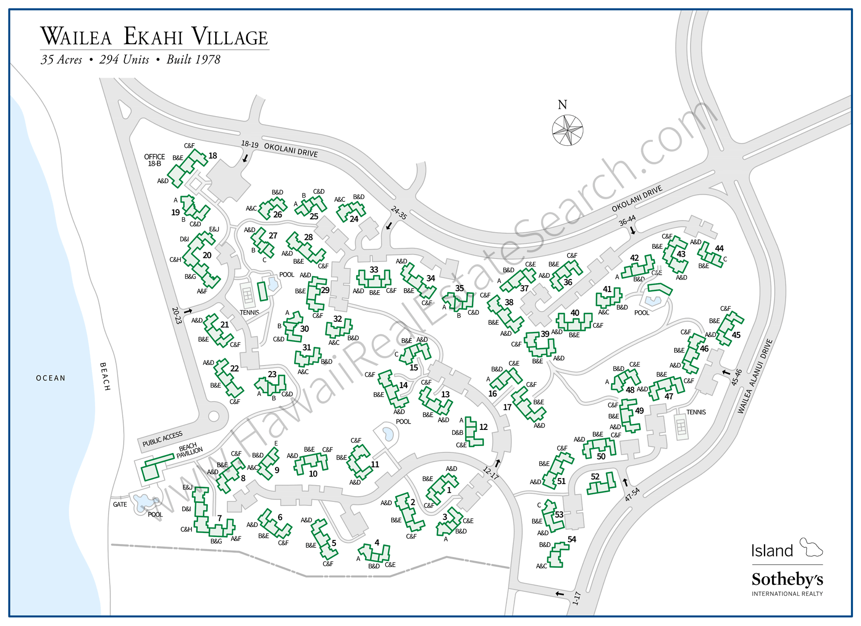 Wailea Ekahi Map Updated 2018