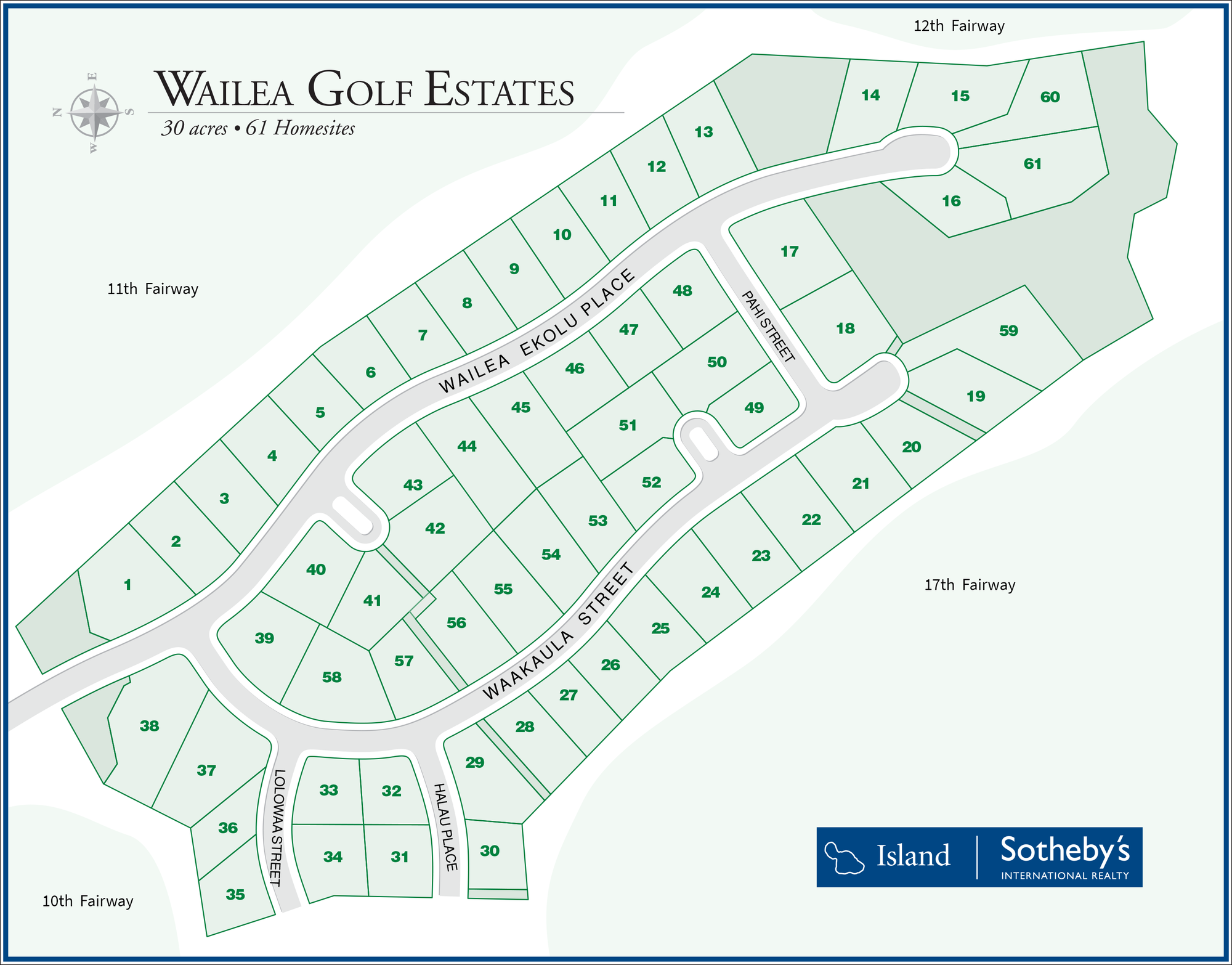 wailea golf estates map