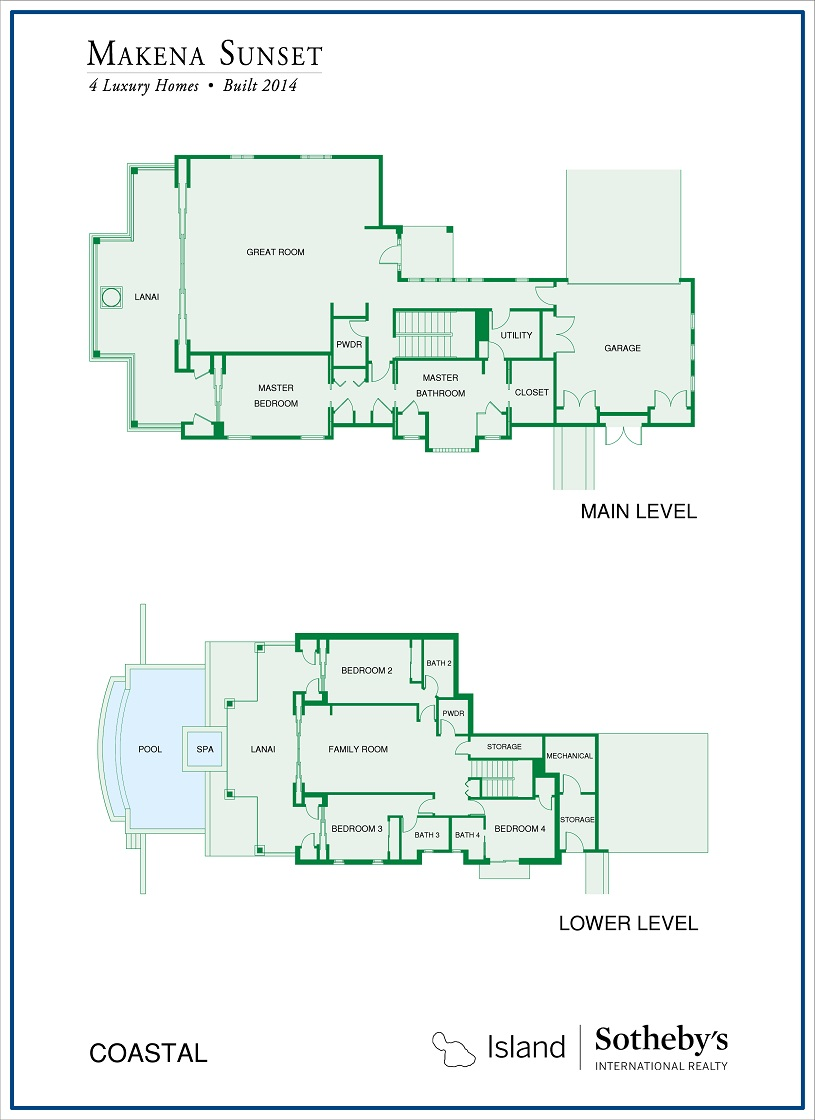 makena sunset floor plan
