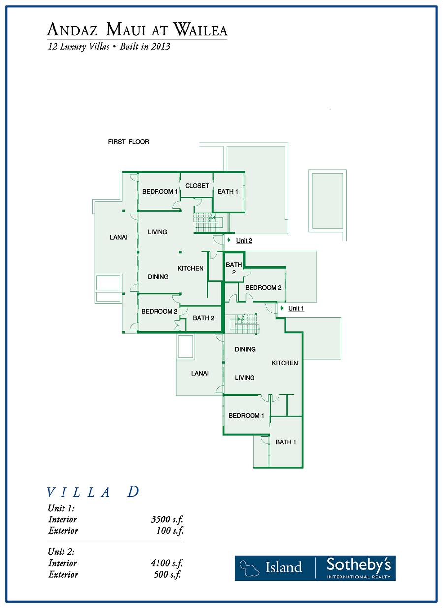 andaz maui at wailea luxury villas for sale andaz wailea floor plan