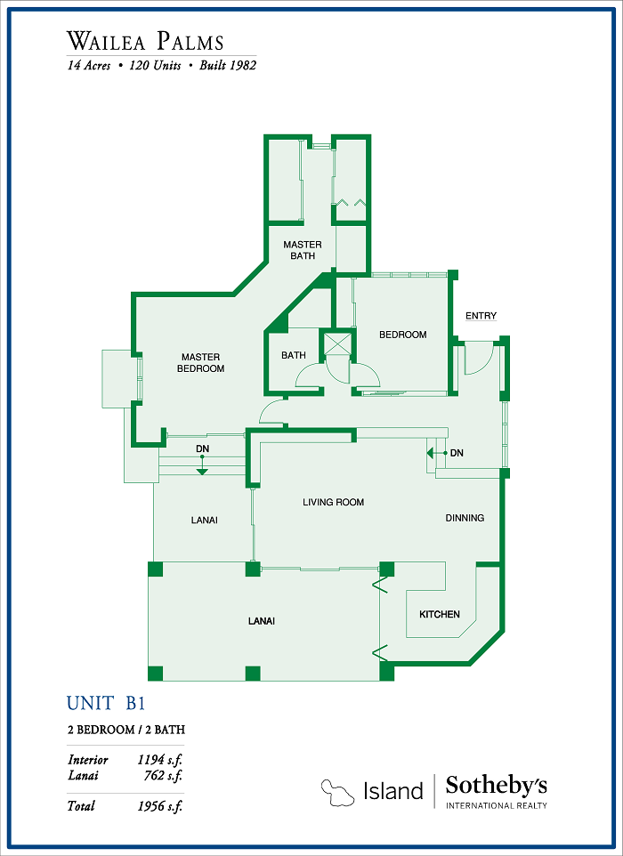 Wailea Palms Floor Plan