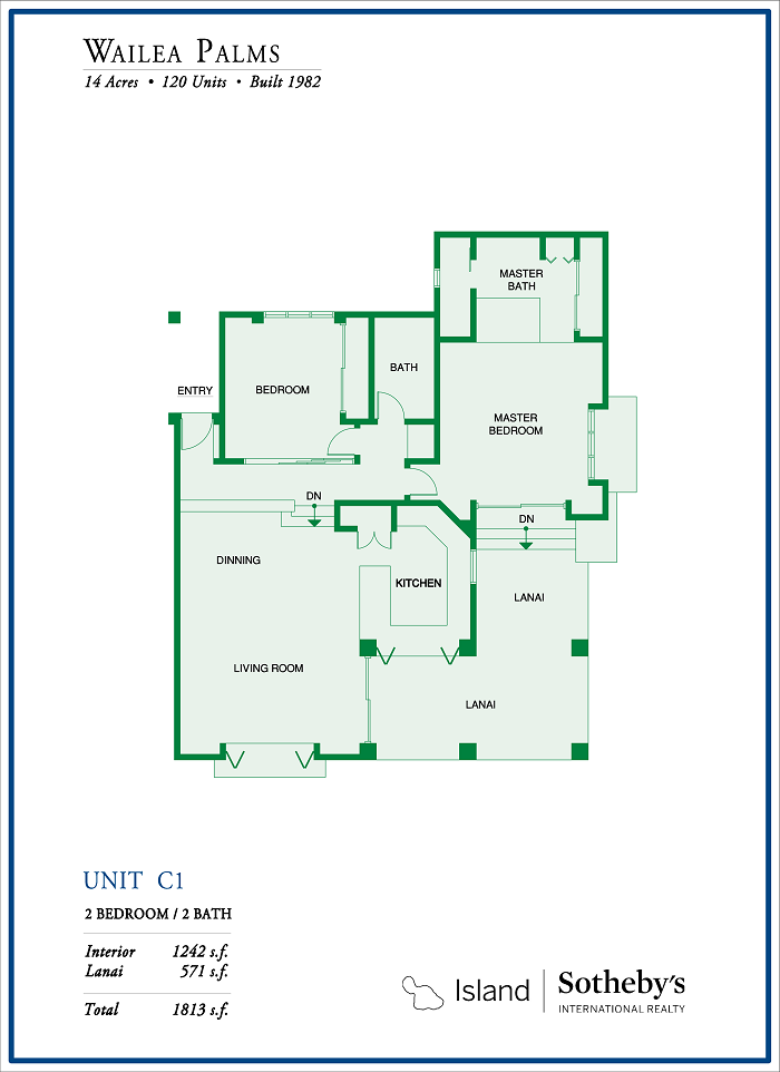 Wailea Palms Floor Plan Updated 2018